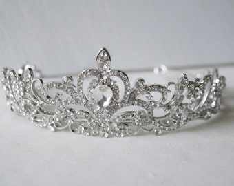 Austria Rhinestone Crystal Wedding Bridal Tiara