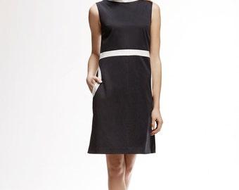 MONICA High Neck A-Line Dress