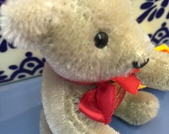 Vintage Steiff gray Teddy Bear 12 cm