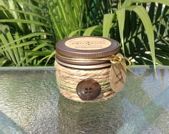 Amish Harvest - Soy Candle with Reusable Decorative Jar - 4oz Cute As A Button