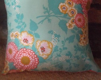 Blooming Floral Springtime Cushion