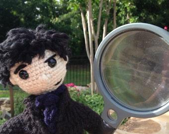 New Sherlock Amigurumi Crochet Doll!