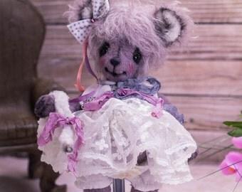 Mouse Lucia - OOAK Teddy Bear