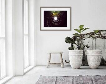Fine art photography / Home decor / Stairs / Spiral / Perspective / Wall art prints 15 x 10, 30 x 20, 45 x 30, 60 x 40, 75 x 50 cm / Paris, France