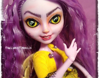 OOAK Custom Crazy Kitty Cheshire Ever After High doll