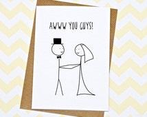Funny wedding postcards