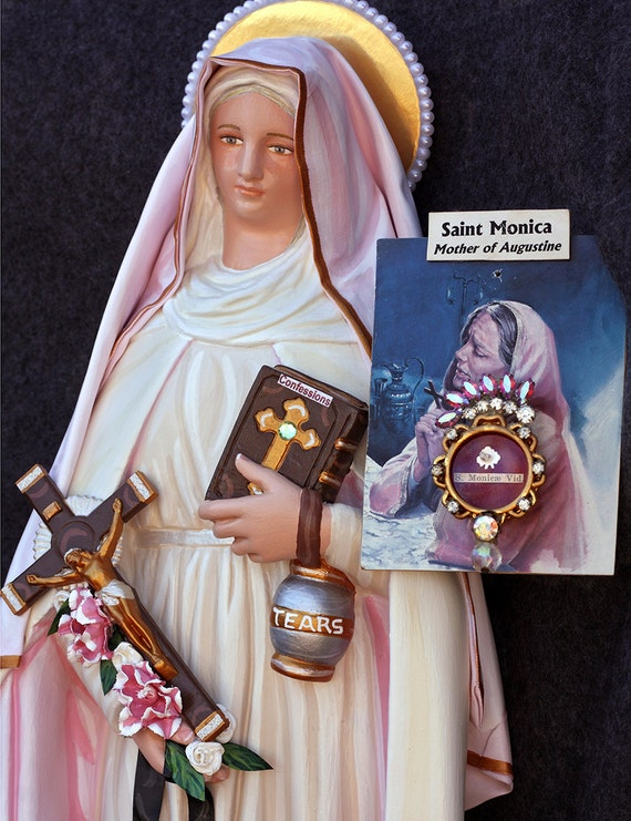 "St. Monica 18"" Patron Saint of the Conversion of Family Members"