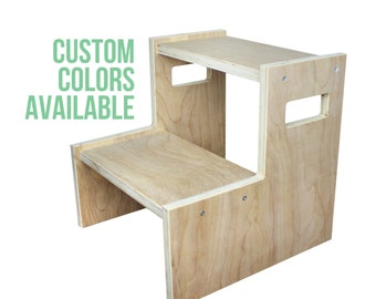 Toddler Step Stool - Custom Colors Available