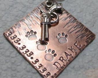 Pet ID Tag, Pet Tag, Dog Tags, Dog Name Tags,Dog Id Tags, Pet accessories,Custom Pet Tags, Tazzpettags,Dog Collar Tags,Gun Dog Tag