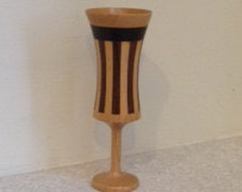 Chalice - Goblet Custom made inlaid wood