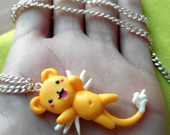 Kero Keychain or Necklace Keroberos Sakura Card Captor kawaii