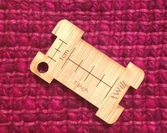 Little Yarn Wrap Tool