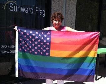 Pride Constellation Flag 3' x 5' Marriage Equality Flag Pride Flag