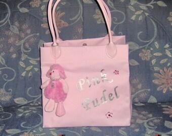 """Bag: """"Pink poodle"""""""