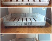 Pallet Dog Bed - Pallet Cat Bed - Pet Bedding - Reclaimed Wood Bedding - Personalized Pet Bed - Wood Dog Bed - FREE SHIPPING