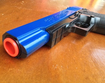 Detective Toy Gun with 6 Foam Darts, Brand New