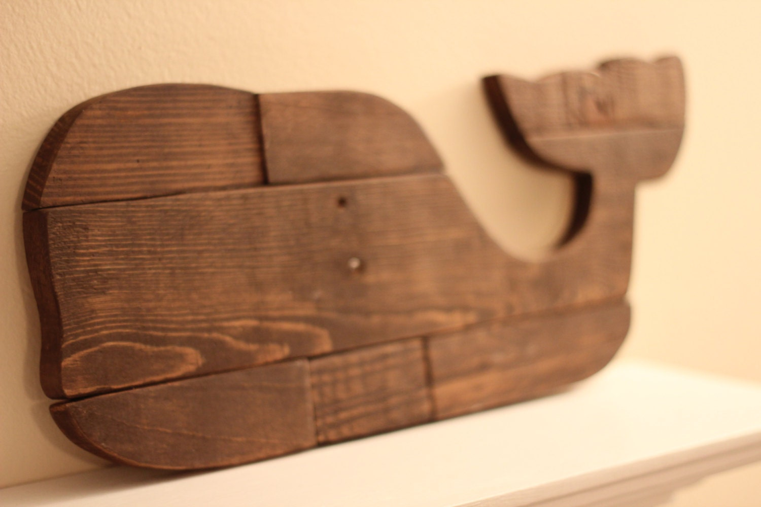 Whale Wall Art wooden whale wall art reclaimed pallet whale
