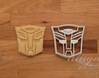 Transformers cookie cutter, Transformers Autobot logo cookie cutter