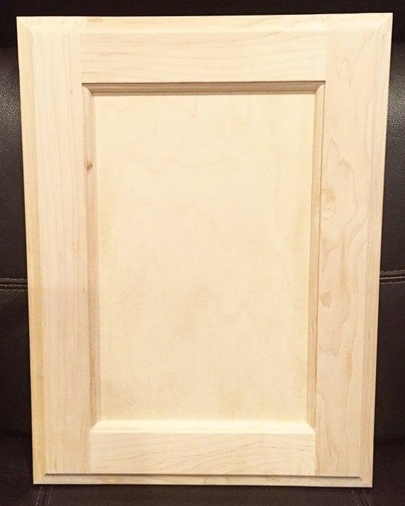 Rainier Style Door In Maple Unfinished Cabinet Doors