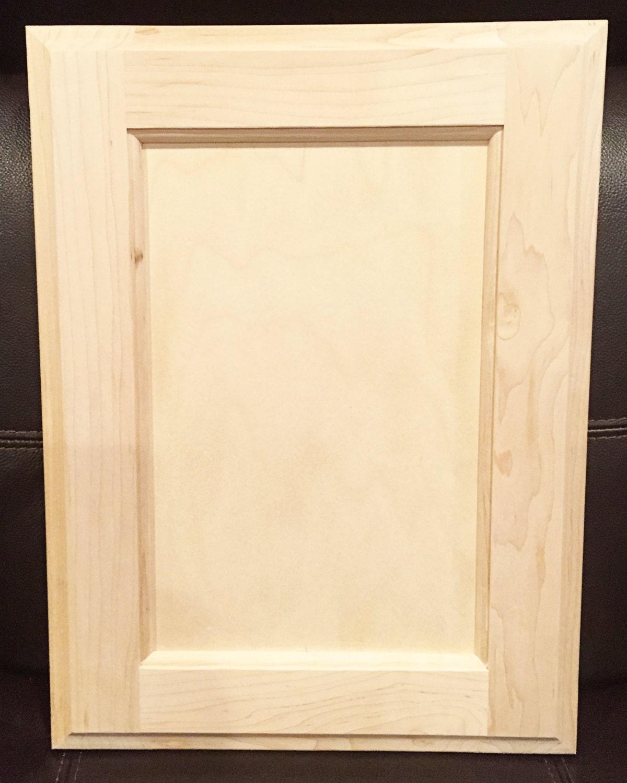 Maple Kitchen Cabinet Doors: Rainier Style Door In Maple Unfinished Cabinet Doors