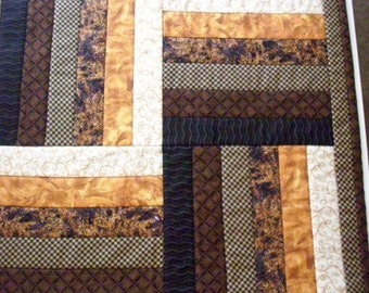 Wallhanging, quilted