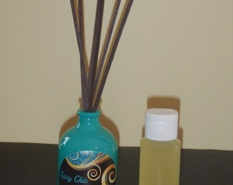 Essential Oil Reed Diffuser Set (All Natural and Organic) - You Pick the Essential Oils