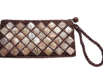 Natural Clutch Bag