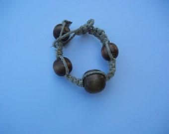 Beaded Hemp Bracelet