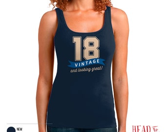 18th Birthday, 18th Birthday Gift, 18th Birthday Party, 1998 Birthday, 18 Birthday, Tank Top, 18th, 18, 18th Birthday Shirt, 18 years old!