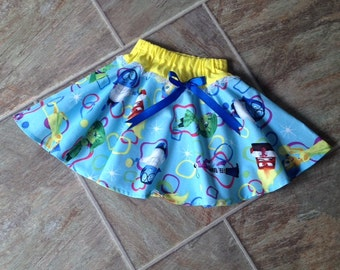 Inside Out Birthday, Inside Out Disgust Skirt, Inside Out, Inside Out Costume, Inside Out Joy Skirt, Inside Out Party, Handmade