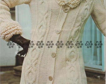 Knitting Patterns For Loopy Cardigan : Loopy cardigan Etsy
