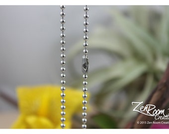 """19"""" 2.5mm Stainless Steel Ball Chain"""