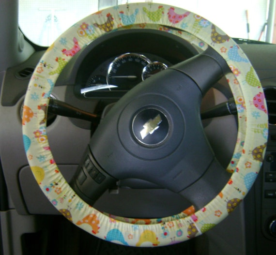 how to clean fabric steering wheel cover
