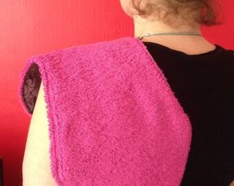 Anti-bavouilles / protects shoulder