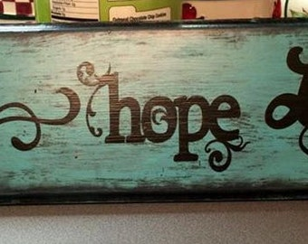 Fath Hope Love Sign-Country Decor-Wood Decor-Handmade signs- Wood Signs- Hand Painted Signs-Gifts-Western Decor-Inspirational Decor-Wooden