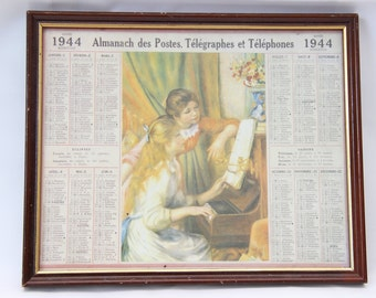 Almanac of PTT's 1944 sub frame