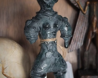 Japanese Dogū - Ancient Aliens Figurine.