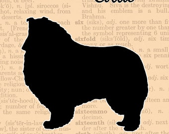 Collie Silhouette