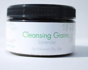Lavender Cleansing Grains for Normal/Dry Skin