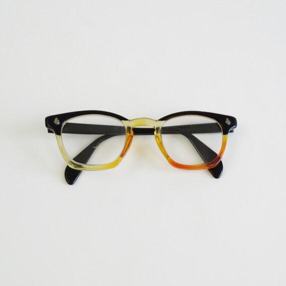 60s plastic glasses frames vintage 1960s thick eyeglasses