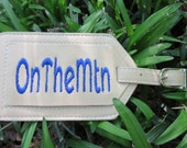 Khaki OnTheMtn Luggage Tag