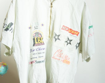 Vintage & Collector T shirt with ZIP New Chewan size M