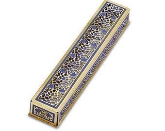 Mezuzah Orient, Mezuzah Case, Judaica, Handmade in Israel, Wedding Gift