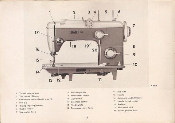 Articles similaires usine de pfaff reparation mod les 260 262 360 362 machine coudre et - Reparation machine a coudre pfaff ...