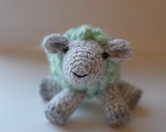 Sheepie -- Stuffed Sheep Toy