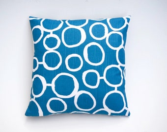 Price reduced from 19.99! Pillow Cover Blue Aqua