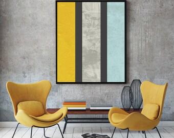 Marble Print, abstract art, minimalist wall decor, marble wall art, mid century modern wall prints minimalist wall art, duck egg blue yellow