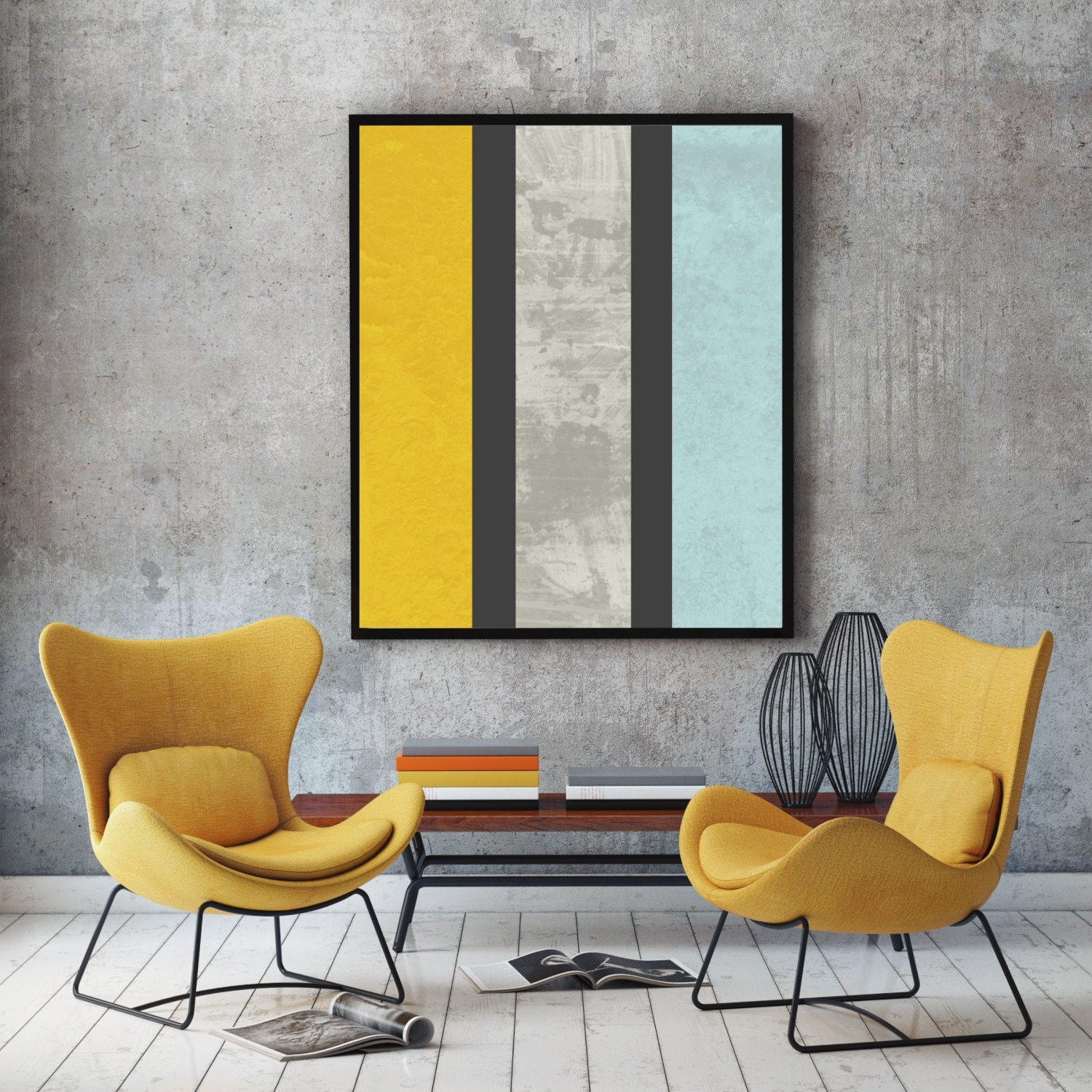Marble Print Abstract Art Minimalist Wall Decor Marble Wall