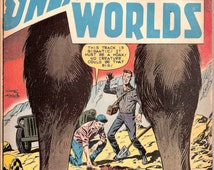 Bigfoot Sasquatch Mysteries of Unexplored Worlds #15 Charlton Comics Outer Space Horror 1959 VG/FN (5.0)