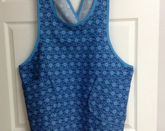 PATTERN PLUS Size Cross Strap Apron PDF Pattern Plus Size 1x to 3x